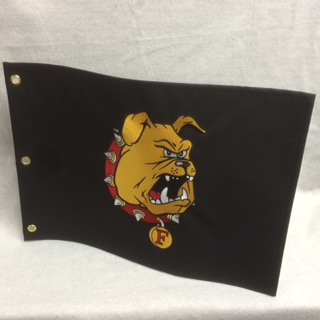 Embroidered Pin Flag